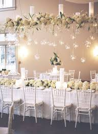 Hanging Decor From Ceiling by Start At The Top Ceiling Decor For Your Wedding Linentablecloth