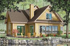 house plans with rear view house plan w2603 detail from drummondhouseplans com