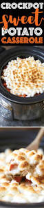 yams thanksgiving marshmallows slow cooker sweet potato casserole damn delicious
