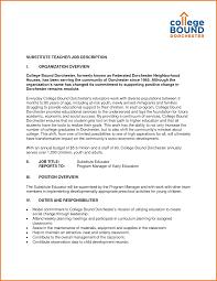 Nanny Job Description Resume by Preschool Teacher Job Duties For Resume Intermediate And