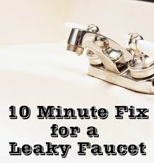 how to stop a leaky faucet in the kitchen fix a leaky faucet in 10 minutes
