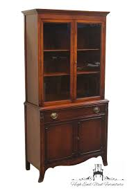 Heywood Wakefield China Cabinet High End Used Furniture Bernhardt Furniture 35 U2033 Duncan Phyfe