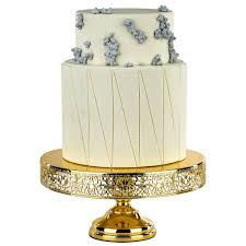 14 inch cake stand 14 inch gold plated wedding cake stand amalfi decor au