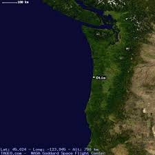 otis oregon united states geography population map cities