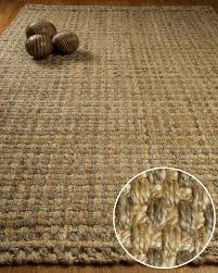 Solid Area Rugs Rugs Natural Area Rugs Sarfinia Solid Rug And Jute Rug By Wayfair