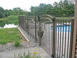 fence design popular pool gates with aluminum fence arched gate