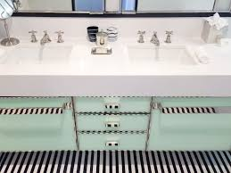 i just fell in love with this retro glam bathroom flat 15 design