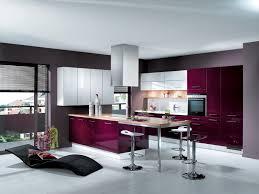modern kitchen living room ideas living room modern kitchen decoration with purple cabinet bar design
