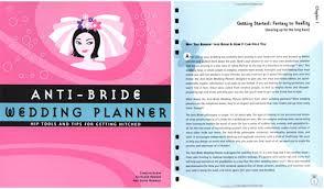 wedding planner tools amelia glynn books anti wedding planner