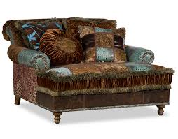Leopard Chaise Lounge Decor Mackenzie Chaise By Old Hickory Tannery With Leopard