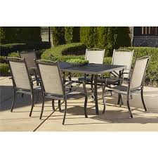Wrought Iron Patio Dining Set - coral coast sanders steel outdoor extension patio dining set