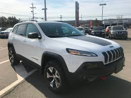 silver nissan rogue 2016 used 2016 jeep cherokee trailhawk in kentville used inventory