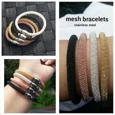 steel stainless magnetic bracelet stainless images Mesh gold stainless steel magnetic bracelet jpg
