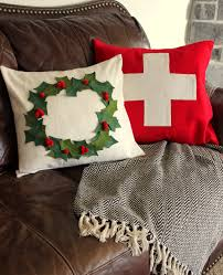 tweetle dee design co diy christmas wool pillows fresh living