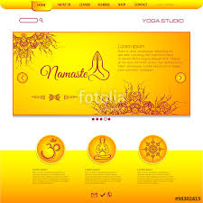 mehndi card website template card with floral henna mehndi design om aim