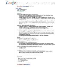 Resume Template Google Drive Resume Resume Template Google