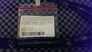 halloween horror nights florida resident code hhn 2013 behind the screams tours morning menace u0026 afternoon