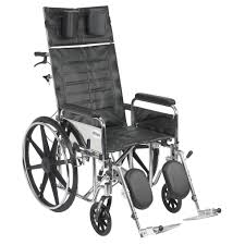 drive medical sentra reclining wheelchair at medmartonline com