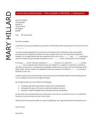 hr administrative assistant cover letter examples invizibil