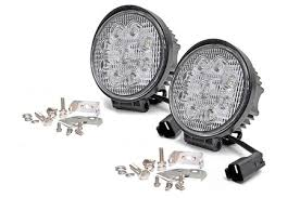 4 inch round led lights rough country 4 inch round led lights firstdueoutfitters