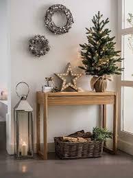 christmas entryway table decorating ideas фотография в стиле советы новый год hoff фото на inmyroom ru