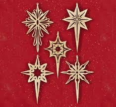 shining star scroll saw ornaments advent hope prophecy