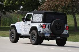 jeep wrangler rubicon two door 2018 jeep wrangler spy photos what every new jeep wrangler