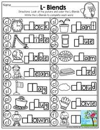 lots of really cute initial blends worksheets s blends make a
