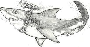 laser shark by cross bluefox on deviantart