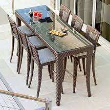 Patio High Table And Chairs Outdoor Furniture Luxury Patio Pool Modern High End Best