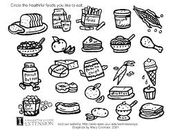 healthy food coloring pages preschool coloring pages food healthy food coloring page healthy coloring