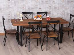 wood and iron dining room table captivating iron and wood dining table dining room guy rustic french