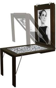 Ikea Folding Wall Table Fold Wall Mounted Table Turns Into A Picture Frame Ikea