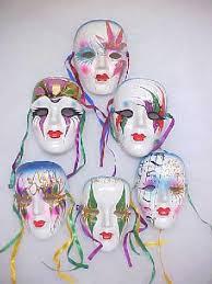 porcelain mardi gras masks colorful faces my style mardi gras masking and