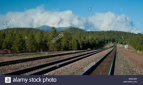 Wildfire Williams Arizona by Clouds From The Schultz Forest Fire Envelope Flagstaff Arizona As