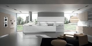 how to blend a modern kitchen in an open floor plan