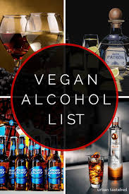 Crystal Comfort Liqueur Vegan Alcohol List The Ultimate Guide