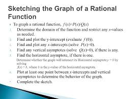 section 7 2 a rational function f is a quotient of