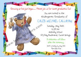kindergarten graduation invitations graduation trendy invitation cards collection 2017 8