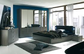 chambre bleu et chambre bleu et noir photo 15 20 armoire dressing avec miroir