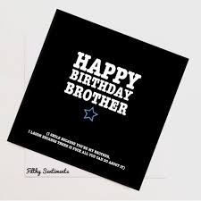 brother funny card funny birthday card rude cards funny