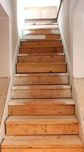 painted basement steps with board and batten areaway definition