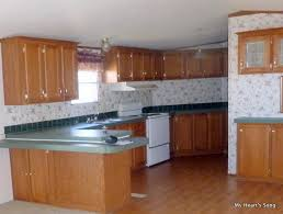 Trailer Kitchen Cabinets A Magnificent Mobile Home Makeover