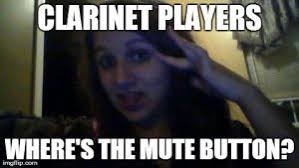 Clarinet Player Meme - you did what with your flute by bandmemes on deviantart