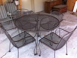 patio furniture 47 stupendous metal patio table set images design