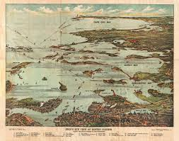 Boston Ferry Map by File 1899 View Map Of Boston Harbor From Boston To Cape Cod And