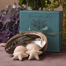 seashell soaps tresors des mer seashell soaps with seashell dish