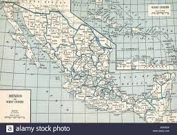Old Mexico Map by Old Map Of Mexico 1930 U0027s Stock Photo Royalty Free Image