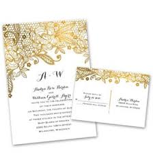 wedding invitations lace lace wedding invitations s bridal bargains