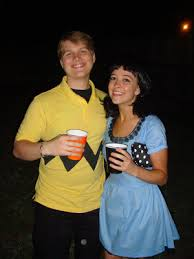 Charlie Brown Costume Couple Costume Charlie Brown And Lucy Holidays Pinterest